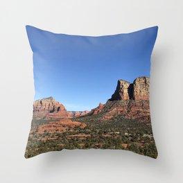 Sunny Sedona Throw Pillow