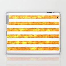 Golden Glitter Girly - Chic Stripes - Duvet Cover - Decor - Tech Laptop & iPad Skin