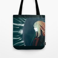 agents of shield Tote Bags featuring Shield by Cruz'n Creations