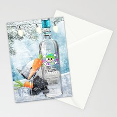 Holiday Cheer! (Melted Snowman Spirits) Stationery Cards