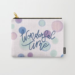Wonderful Time #society6 #xmas Carry-All Pouch