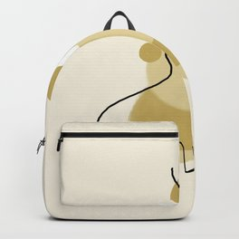 woman abstract Backpack