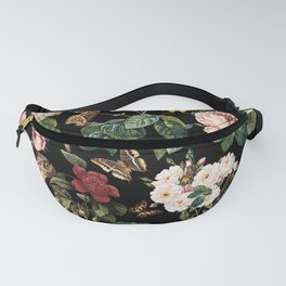 Floral and Butterflies Fanny Pack