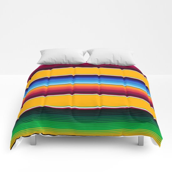 Traditional Mexican Serape in Yellow Multi by beckybailey1