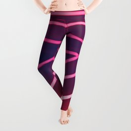 Pink Neon Leggings