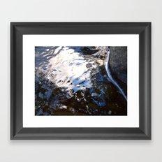 Textures - Water Framed Art Print
