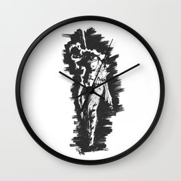 Kinbaku Woman Wall Clock