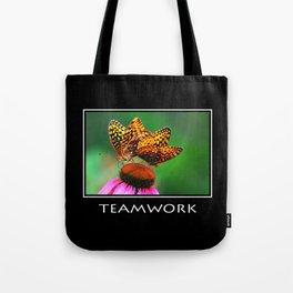 Inspirational Teamwork Tote Bag
