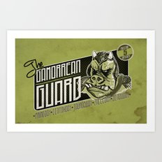Protection Services Art Print
