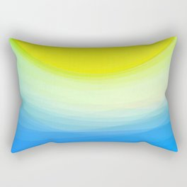 SUNNY DAY - Abstract Graphic Iphone Case Rectangular Pillow
