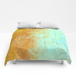 Earth and Water Abstract Comforters