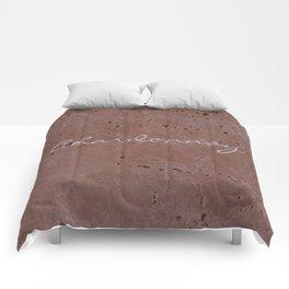 Chardonnay Wine Red Travertine - Rustic - Rustic Glam Comforters