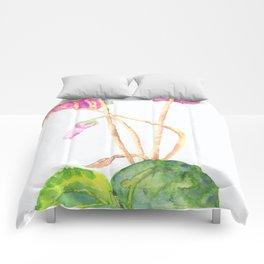 UriKuri Watercolour Cyclamen Comforters