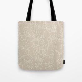 Minimalist Kangaroo Tote Bag
