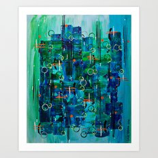 :: Midnight Call :: Art Print