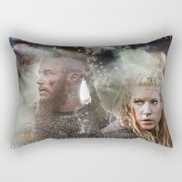 Battle Torn Rectangular Pillow