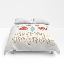 Merry Christmas Ornament Comforters
