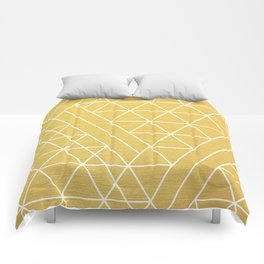 Golden Goddess Comforters