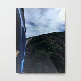 Cog Railway Metal Print