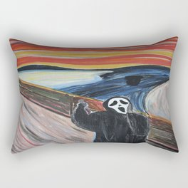 Scream Rectangular Pillow