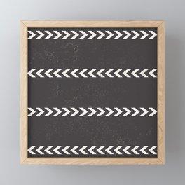 Arrow Stripe Framed Mini Art Print