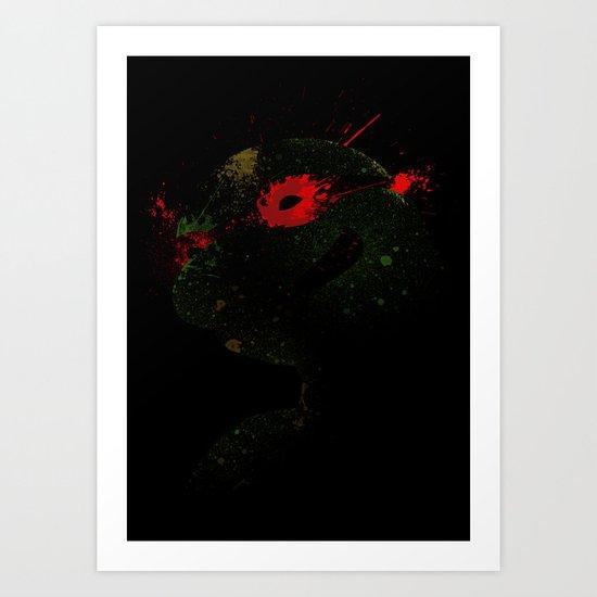 Raph Art Print