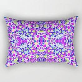 Arabesque kaleidoscopic Mosaic G514 Rectangular Pillow