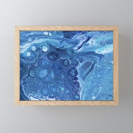 Queen's Bath Framed Mini Art Print