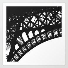 Eiffel Detail - Paris Photography Art Print