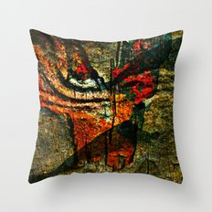 Cave Drawings Throw Pillow