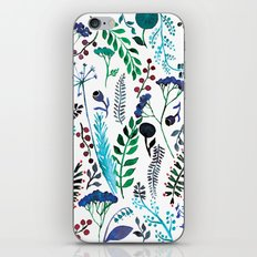 Plant pattern iPhone & iPod Skin