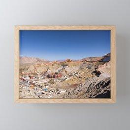 Gyantse town - Tibet Framed Mini Art Print