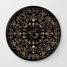 Ek Onkar / Ik Onkar Black and Gold #2Ek Onkar / Ik Onkar Black and Gold #2 Wall Clock