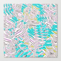 New Sacred 45 (2014) Canvas Print