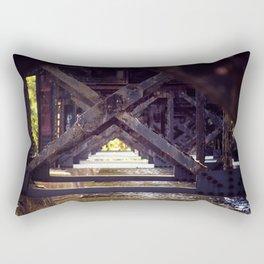 Rusty Bridge Rectangular Pillow