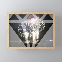 Shine Bright Like A Diamond Framed Mini Art Print