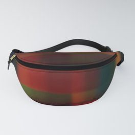 Blured squares Fanny Pack