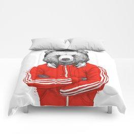 bear coach Comforters
