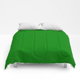 Alien Green Creepy Hollow Halloween Comforters