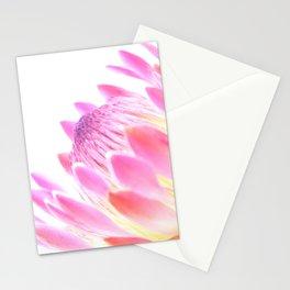 Lightning pink flower Stationery Cards