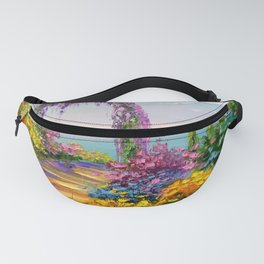 Blooming arch Fanny Pack
