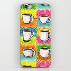 I drew you 9 little mugs of coffee iPhone & iPod Skin
