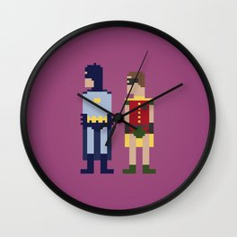 Dynamic Duo Wall Clock