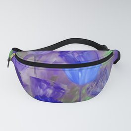 Breaking Dawn in Shades of Deep Blue and Purple Fanny Pack