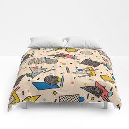 Memphis Inspired Pattern 7 Comforters