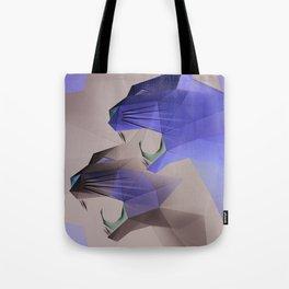 Geometric Cats Tote Bag