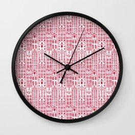 AMSTERDAM RED Wall Clock