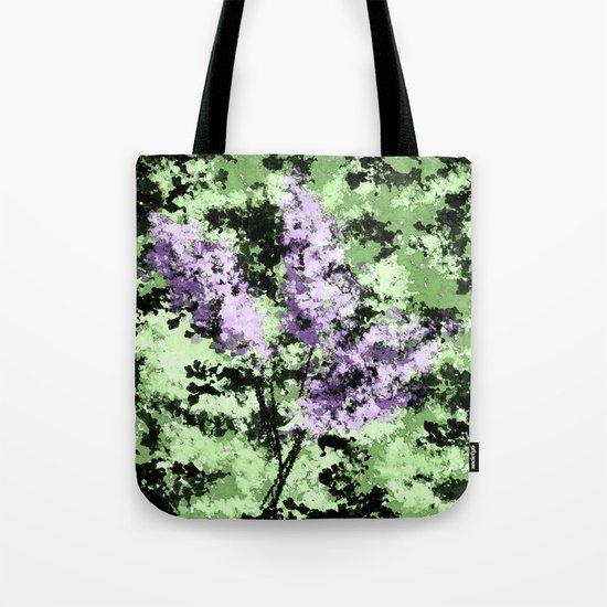 LILACS WATERCOLOR  (abstract) Tote Bag