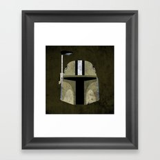 Saints Bounty Hunter Framed Art Print