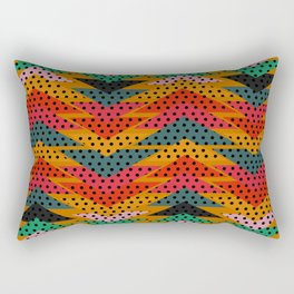 Spotty triangles Rectangular Pillow